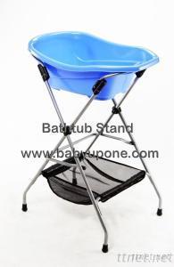 Baby UP-One Designed Bathtub Metal Stand / Sliver