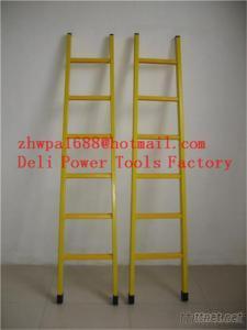 Single Step Extension FRP Ladder, Easy Handing Fiberglass Foldable Ladder