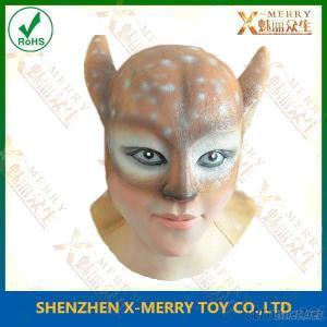 Deer Animation Latex Mask