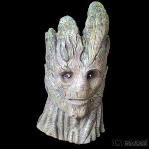 Funny Cosplay Groot Latex Mask