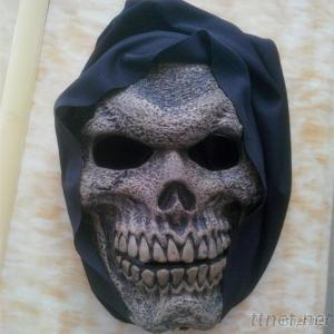 Grim Reaper Animation Halloween Makeup Hayride Monster