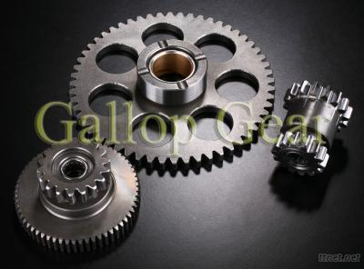 Electric Start Gear Assembly For Daelim Motorcycle