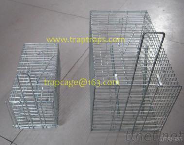 Single Door Bait Rat Cage Trap