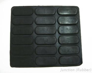 Oval Shaped Rubber Bumper