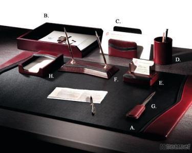 Gemini Leather 8 - PC Desk Set
