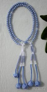Japanese Juzu Nenju SGI Beads S Size Material Violet Plastic