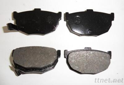 Semi-Metallic/Ceramic/Low-Metallic Disc Brake Pads