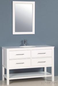 Solid Wood Bathroom Furniture Vanities