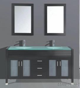 Wooden Solid Wood Bathroom Cabinets