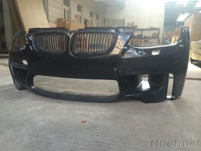 PP Material 1M Style Front Bumper/ Lip For E92 E93 Pre Lci/Lci