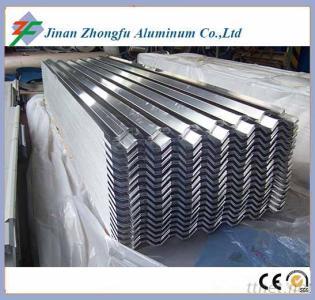 Corrugated Aluminum Roofing Sheet 750 840 900 Size