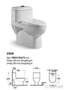 Sanitary Ware One Piece Toilet
