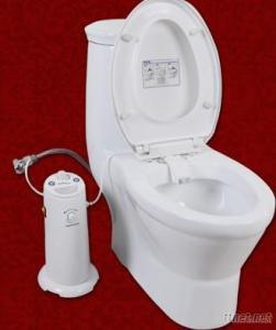 CE ABS Electronic Warm Water Smart Bidet Toilet Built-In