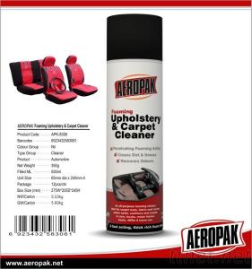 Waterless Carpet Upholstery Leather Spray Multi Purpose Foam Cleaner With Brush