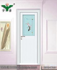 Interior Aluminum Alloy Bathroom Door BSD-024