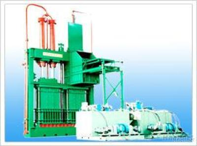 Hydraumatic Cotton Press