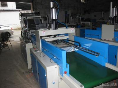 TLXJ-C Series Automatic Plastic Carry Bag Making Machine