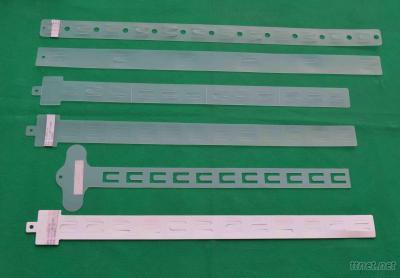 Plastic Hook Hang Strip, PP Clip Strip Hanger