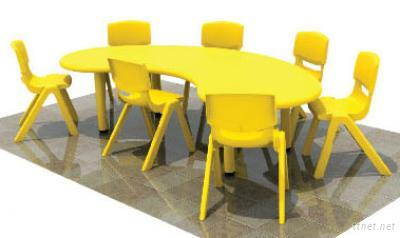 New Design School Furniture Kids Table And Chairs Set