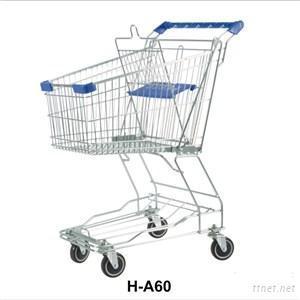 Asian Shopping Trolley