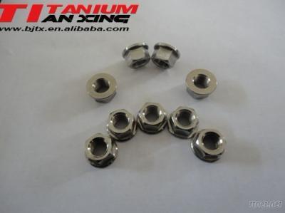 Titanium Hexagon Flange Nut