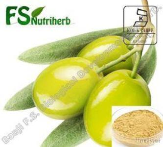 Natural Olive Leaf Plant Extract Water Soluble Oleuropein