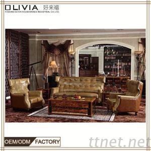 European Sofa, Classic Sofa, Wooden Sofa Set