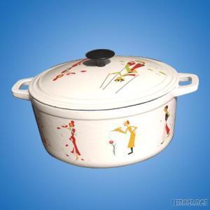 Enamel Soup Pots