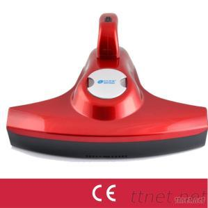 Battery operated UV light bagless and dry home vacuum cleaner for cleaning the bed