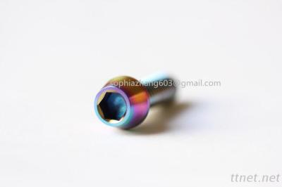 Din912 titanium tamper hex socket bolt