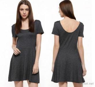 Girls Summer Grey Party Dress T Shirt Dresses