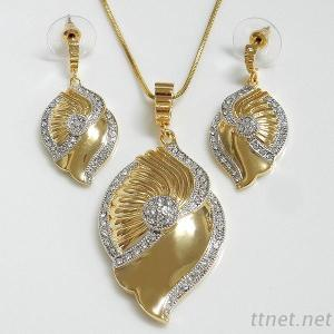 Shell Design Fashion Jewelry Set