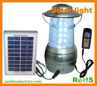 Solar LED Lantern Light For Camping