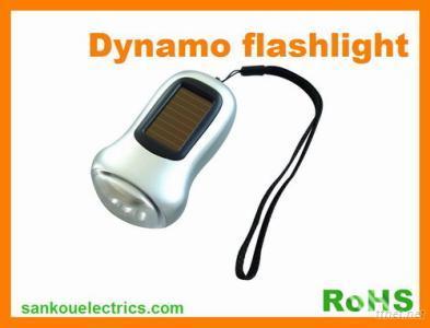 Solar Flashlight, Dynamo Solar Flashlight