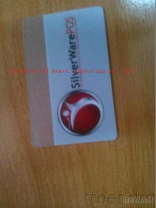 Pvc Clear Crystal Card