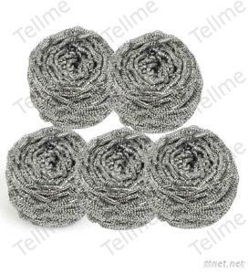 Magic Clean Stainless Steel Scourer For Household Cleaning