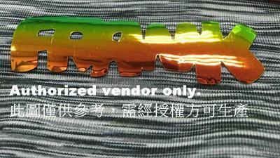 Multi-angle colorful  TPU Heat Transfer Label