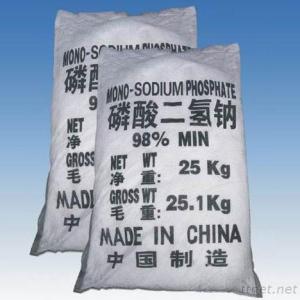 97% Msp Sodium Phosphate Monobasic Dihydrate Nah2po4