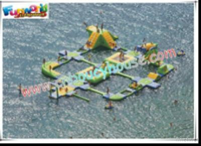 A Set Of Popular Inflatable Water Park Games