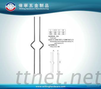 Metal Handle, Aluminum Alloy Door Handle Customized