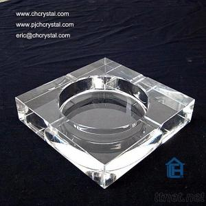 Crystal Ashtray Can Hold Cigarettes