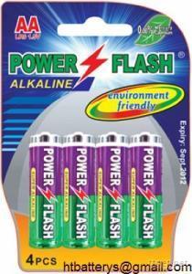 LR6 AA AM-3 Size Alkaline Battery 1.5V