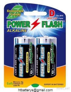 LR20/AM-1/D Size Super Alkaline Battery 1.5V