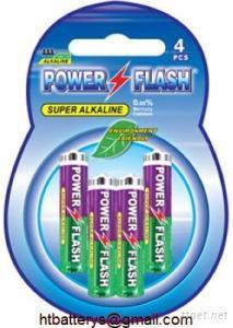 LR03 AAA AM-4 Size Alkaline Battery 1.5V