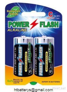 LR14 C AM-2 Size Alkaline Battery 1.5V(2 pieces/card)