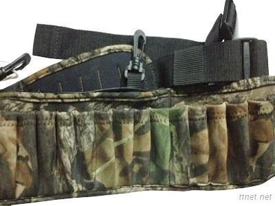 Camouflage shotshell belt