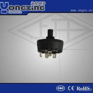 16A 250V AC ENEC17 CQC 6 Position Rotary Switches