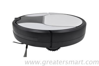 Low noise robot vacuum cleaner with remote control