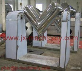 Pharmaceutical Machinery For V-Type Efficient Mixer