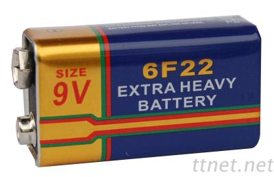 Extra Long Life Super Heavy Duty Battery 6F22 9V